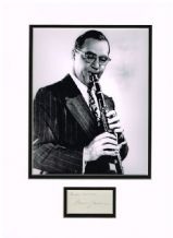 Benny Goodman Autograph Signed